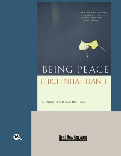 9781427096128: Being Peace (EasyRead Large Bold Edition)