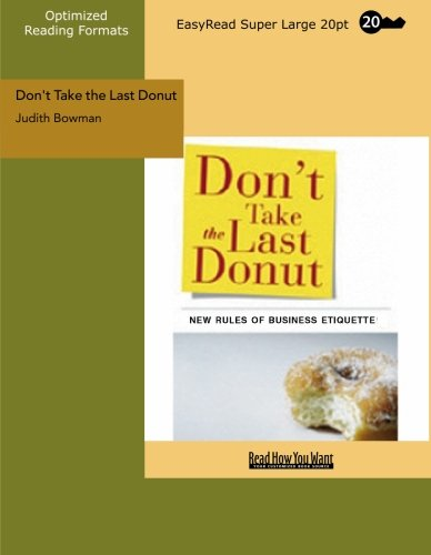 9781427096951: Don't Take the Last Donut