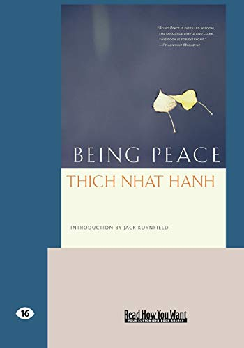 9781427097552: Being Peace (EasyRead Large Edition)