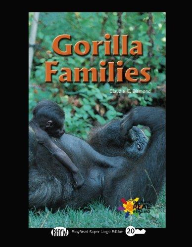 9781427099891: Gorilla Families: Easyread Super Large 20pt Edition