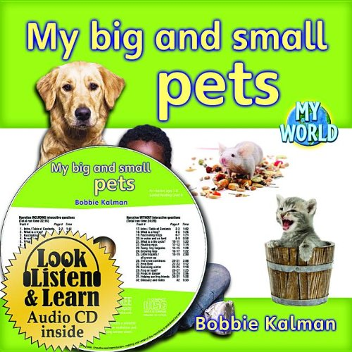 9781427110305: My Big and Small Pets - CD + Hc Book - Package (My World)