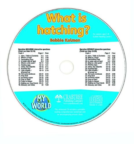 9781427110589: What Is Hatching? - CD Only (My World)