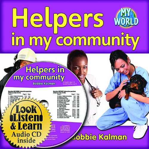 9781427110800: Helpers in My Community - CD + PB Book - Package (My World)