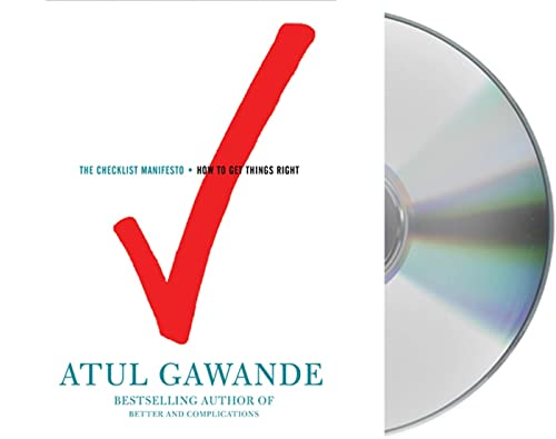 The Checklist Manifesto: How to Get Things Right (1427208980) by Atul Gawande
