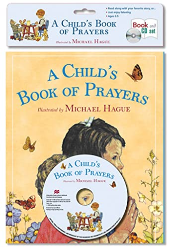 9781427209917: A Child's Book of Prayers - Book & CD set