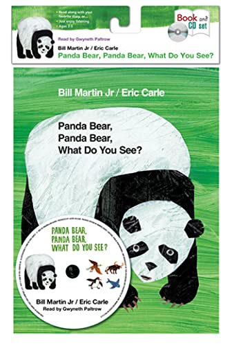 9781427212542: Panda Bear, Panda Bear, What Do You See? [With Book(s)] (Brown Bear & Friends)