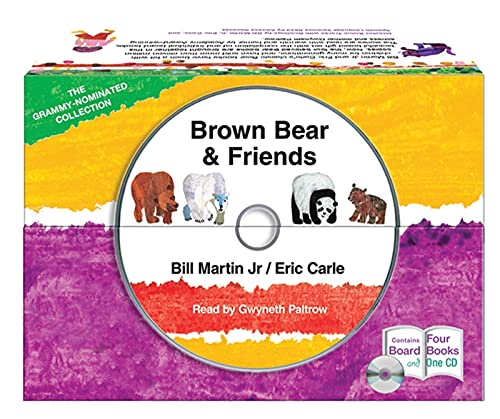 9781427214485: Brown Bear and Friends Board Book and CD Set