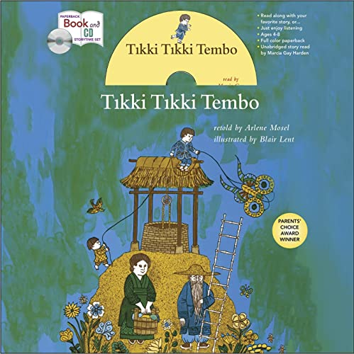 9781427232113: Tikki Tikki Tembo book and CD Storytime Set