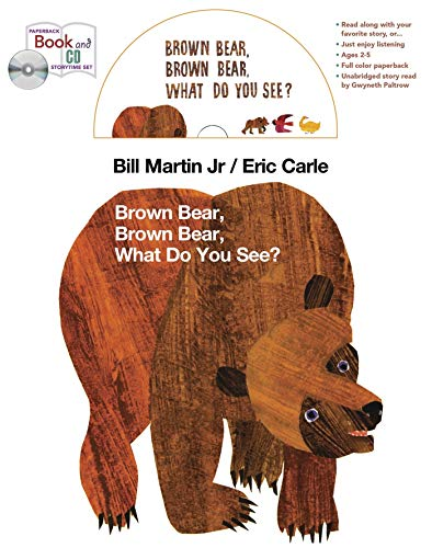 9781427235107: Brown Bear book and CD storytime set