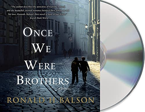 Once We Were Brothers (Compact Disc): Ronald H. Balson