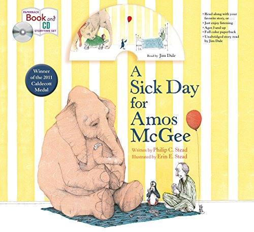 9781427287229: A Sick Day for Amos McGee: Book & CD Storytime Set