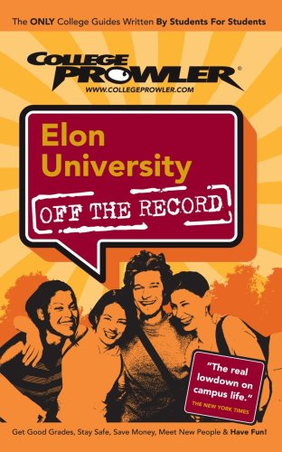 9781427400574: Elon University: Off the Record - College Prowler
