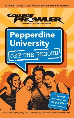Pepperdine University: Off the Record - College: Pinkerton, Steve