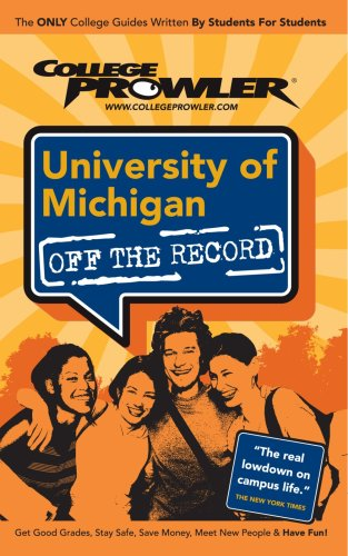 9781427401786: University of Michigan: College Prowler Guide (Off The Record)