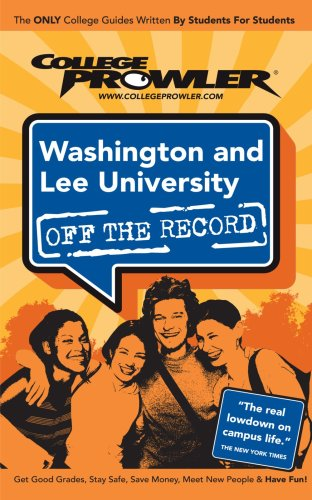 9781427402134: Washington and Lee University: Off the Record - College Prowler