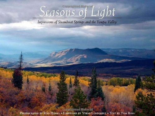 9781427621252: Seasons of Light, Impressions of Steamboat Springs and the Yampa Valley