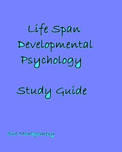 9781427629319: Life Span Developmental Psychology: Study Guide