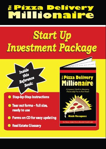 9781427631664: The Pizza Delivery Millionaire Investment Start Up Package