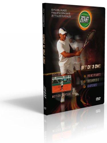 9781427636935: Tenis con Clerc - SET DE 3 DVD - Trilogia Completa (Niveles Principiante, Intermedio & Avanzado)