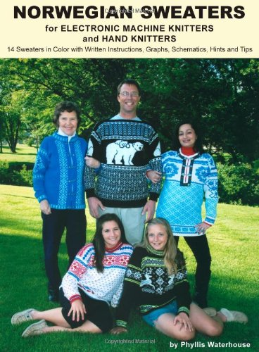 9781427647177: Norwegian Sweaters for Electronic Machine Knitters and Hand Knitters