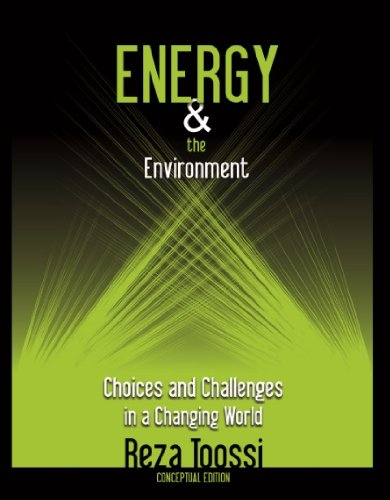 9781427647658: Energy & the Environment Choices and Challenges in a Changing World (Conceptual Edition) (Conceptual Edition, Green Cover)
