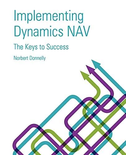 9781427651419: Implementing Dynamics Nav - Keys to Success