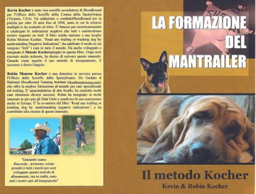 9781427695468: La Formazione Del Mantrailer, Il Metodo Kocher (How to Train a Police Bloodhound)