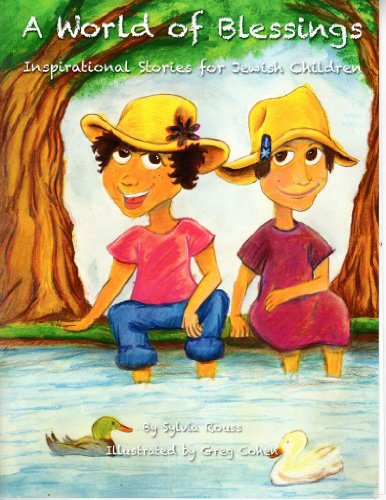 9781427695710: A World of Blessings, Inspirational Stories for Jewish Children