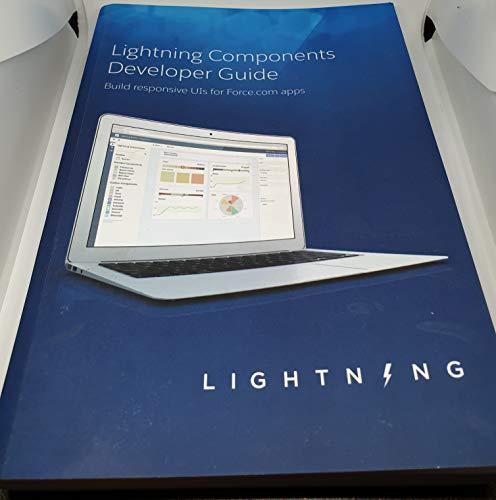 9781427696564: Lightning Components Developer Guide