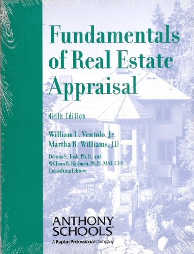 9781427700520: Fundamentals of Real Estate Appraisal, Ninth Edition (Anthony Schools)