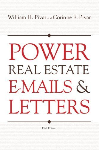 9781427711403: Power Real Estate E-Mails & Letters