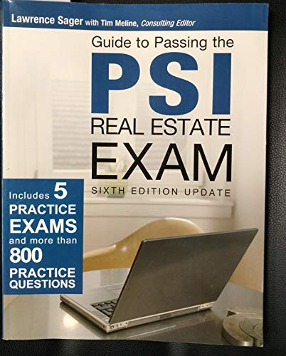 Guide to Passing the PSI Real Estate: Consulting Editor Lawrence