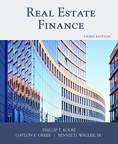 9781427724878 real estate finance by phillip t kolbe gaylon e real estate finance 3rd edition phillip t kolbe fandeluxe