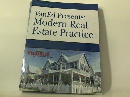 9781427724977: Modern Real Estate Practice (VanEd Presents)