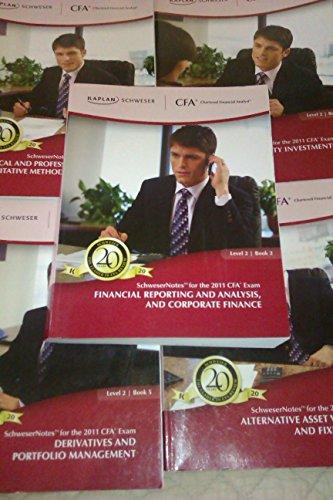 2011 CFA Level3 Schweser Study Notes &: The Kaplan Schweser