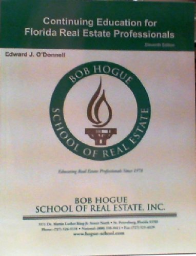 9781427729897: Florida Continuing Education for Florida Real Estate Professionals
