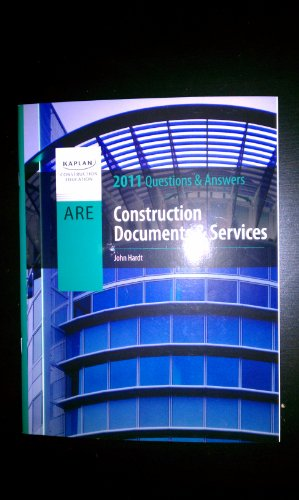 9781427732040: ARE Construction Documents & Services 2011 Questions and Answers