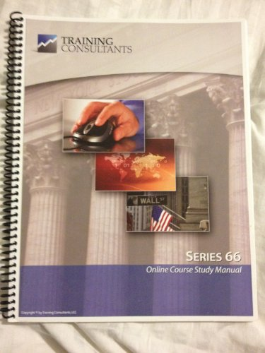 9781427734457: Kaplan Series 66 Securities Class Notes Uniform Combined State Law Exam (6th Edition)