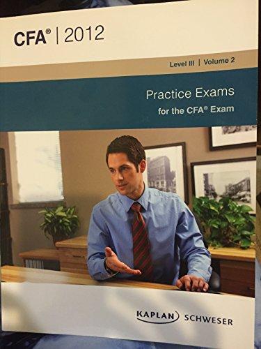 9781427736833: Schweser Practice Exams for the CFA Exam (#2)