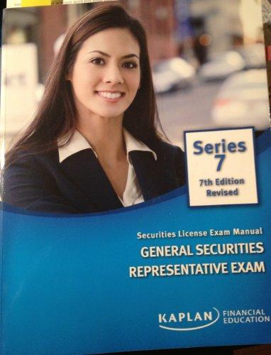 9781427739438: Kaplan Series 7 7th Edition Revised (Kaplan Series 7 7th Edition Revised Securities Exam Manual General Securities Representative Exam)