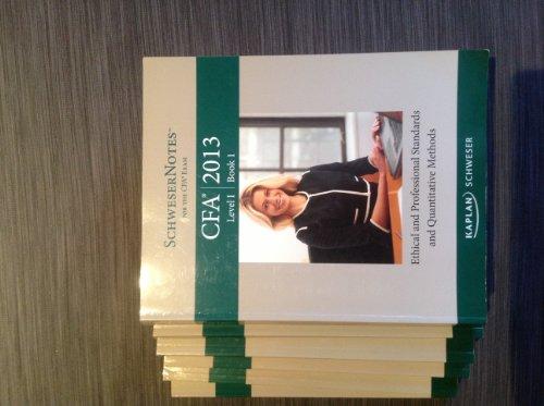 2013 CFA Level 1 Book 4: Corporate: Kaplan Schweser