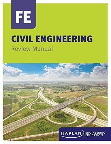9781427745293: KAPLAN Civil Engineering FE Review Manual