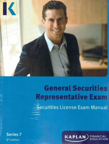 9781427748003: Kaplan Series 7 Securities License Exam Manual, General Securities Representative Exam
