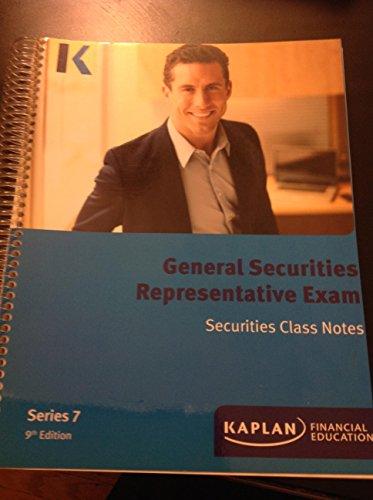 9781427748010: Kaplan Series 7 General Securities Representative Class Notes