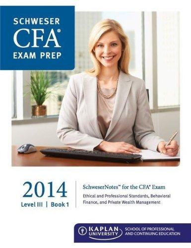 Schweser CFA Level 3 (2014)