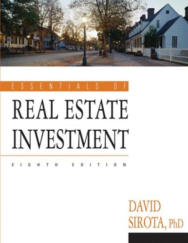 9781427750617: Essentials of Real Estate Investment