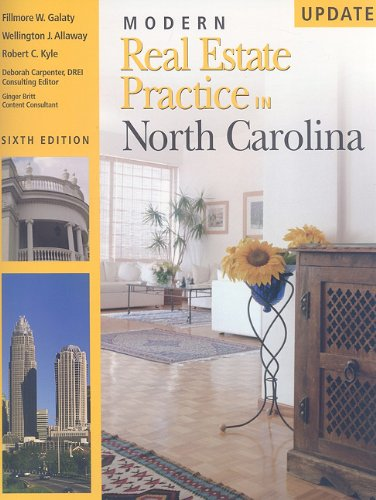 Modern Real Estate Practice in North Carolina,: Fillmore Galaty, Wellington