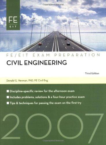 9781427751812: Civil Engineering: FE Exam Preparation (FE/EIT Exam Preparation)