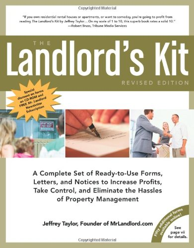 9781427754684: The Landlord's Kit, Revised Edition: A Complete Set of Ready to use Forms, Letters, and Notices to Increase Profits, Take Control and Eliminate the Hassles of Property Management.