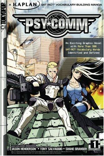 Psy-Comm, Volume 1: Kaplan SAT/ACT Vocabulary-Building Manga: Henderson, Jason, Salvaggio,